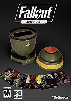 - Cool Stuff: Fallout Anthology + Mini-Nuke Storage Case (Windows)Experience the definitive PC collection from the award-winning Fallout series. [[MORE]]Fallout Anthology features all five. Fallout Pc, Fallout New Vegas, Sims 2 Pc, Xbox One, Playstation, Pip Boy, Nintendo, Game Prices, Nuclear War