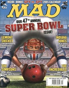 Cover for MAD (EC,1952 serie) #450 FEBRUARY 2005
