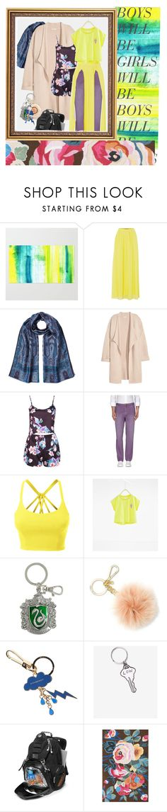 """and when I see you"" by halloweenpjs ❤ liked on Polyvore featuring HUGO, Etro, Kofta, Boohoo, Scotch & Soda, LE3NO, MICHAEL Michael Kors, Burberry, Valley Cruise Press and Oakley"