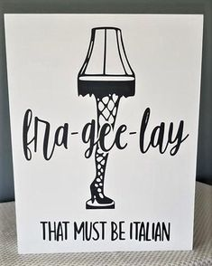 christmas signs Fra-gee-lay, Leg Lamp sign, That must be Italian, Christmas movie sign Outdoor Christmas Tree Decorations, Diy Christmas Lights, Mini Christmas Tree, A Christmas Story, Christmas Signs, Rustic Christmas, Christmas Wreaths, Christmas Crafts, Christmas Ornaments