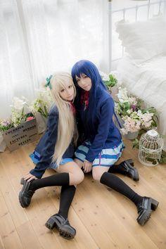 Umi Sonoda - Leia(Leia) Umi Sonoda, shinare(Shinare) Kotori Minami Cosplay Photo - Cure WorldCosplay