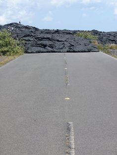 Road closed... lava! @ Hawaii Volcanoes National Park, Big Island, Hawaii | Flickr - Photo Sharing!