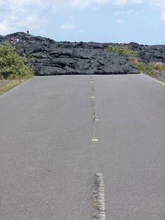 Road closed... lava! @ Hawaii Volcanoes National Park, Big Island, Hawaii | Flickr - Photo Sharing!