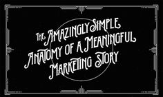 The Simple Anatomy Of A Meaningful Marketing Story - Writers Write Content Marketing Strategy, Small Business Marketing, Inbound Marketing, Online Business, Digital Marketing, Media Marketing, Best Tweets, Formulas, Writers Write