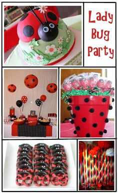 ladybug balloon centerpieces | ... in our Bonnet , and polka dot balloons/lanterns from articles web