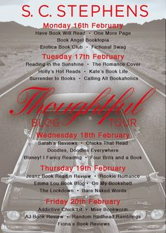 Calling All Bookaholics!: Blog Tour & Review - Thoughtful (Thoughtless) By S...