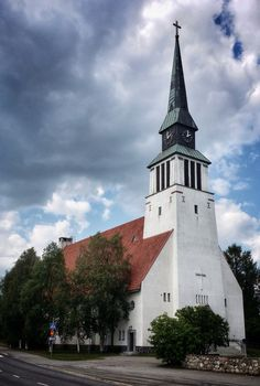 Kemijärvi Church. Finland