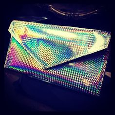 Holographic bag version maxi. We ❤ weekends in holographic. #cherubina