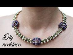 Beautiful Necklace | Wedding Necklace | Beaded Necklace - YouTube