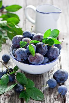 Blueberries are filled with antioxidants, very good for the body