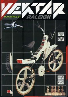This cutting edge, futuristic Raleigh Vektar made my Christmas in the 80's