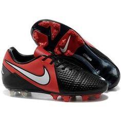 http://www.asneakers4u.com Mens Soccer Cleats Nike CTR360 Maestri III ACC FG Firm Ground Soccer Cleats  Black White Bright Crimson
