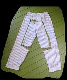 Återbruk av pyjamasbyxor!