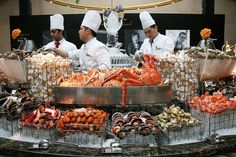 French Seafood Buffet   True indulgence