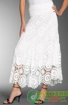Image result for crochet skirts images
