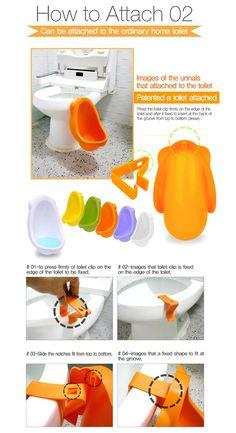 Children Potty Urinal Toilet Training for Boys Pee Made in Korea Green | eBay