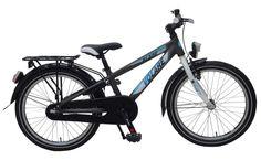 De Volare Aluminium City Blade 20 inch met terugtraprem is super mooi, stoer en een modern aluminium Triangle frame. Elke jongen maakt met deze fiets de Blitz. Alles op deze fiets is van kwaliteit, zoals binnenwerk onderdelen en crankset van Merk leveranciers, extra stevig oversized voorframe. Gewoon een fantastische fiets. Deze fiets is geschikt voor jongens in de leeftijd van 6-8 jaar.