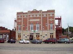 Brown Grand Theatre in Concordia, Kansas has stories of a ghost that haunts the theater, especially during the opening season.