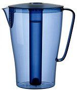 Solfint Pitcher with Lid, 68 Oz with Removable Freezer Insert, Blue ~ Ikea - http://teacoffeestore.com/solfint-pitcher-with-lid-68-oz-with-removable-freezer-insert-blue-ikea/