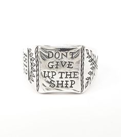 catbird::shop by category::JEWELRY::Rings::Don't Give up the Ship Ring - NEW!