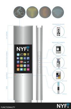 """Galeria de """"NYFi"""": Uma proposta para reinventar o telefone público em Nova York - 8"""