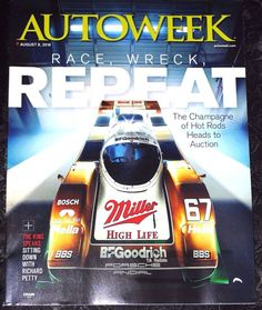 AUTOWEEK Magazine  August 8, 2016  (NO ADDRESS LABEL ON THE COVER)