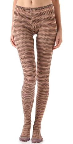 Knit printed tights from Missoni.  205. (I can t image paying over 7ecb58bc9ba