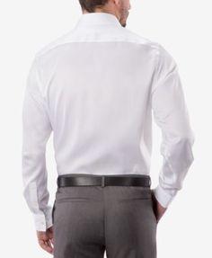 Michael Michael Kors Men's Classic-Fit Non-Iron Twill Dress Shirt - Pink 16 32/33