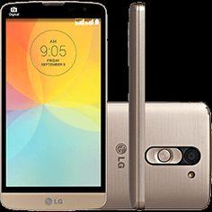 Smartphone LG L Prime D337 Dual Chip Desbloqueado Android 4.4 Kit Kat Tela 5 8GB 3G Wi-Fi Câmera 8MP Dourado