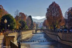 Río Genil, a su paso por el Paseo de la Bomba. (vía flickr)
