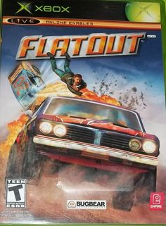 """""""FLAT OUT"""" XBOX GAME"""