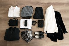 Packing, suitcase, travel, outfits.