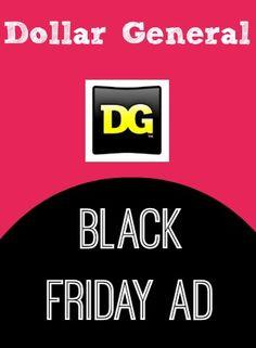 Dollar General Black Friday Ad 2013