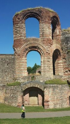 Trier, Germany - Ruins of the Roman baths