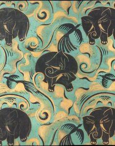 Raoul Dufy elephants