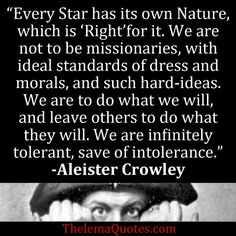Quotes by Aleister Crowley   Aleister Crowley