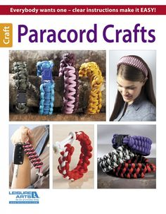 Leisure Arts - Paracord Crafts eBook, $5.99 (http://www.leisurearts.com/products/paracord-crafts-ebook.html)