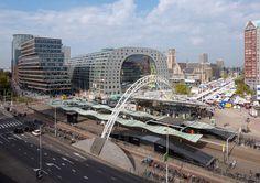 The Markthal Rotterdam by MVRDV opens its door