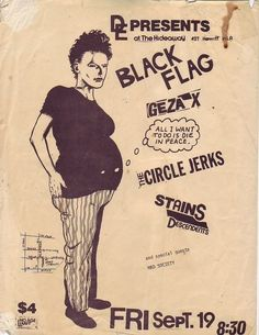 Casi todos los flyers de Black Flag que hizo Raymond Pettibon Music Flyer, Concert Flyer, Concert Posters, Story Site, Raymond Pettibon, Punk Poster, Music Artwork, Learn Art, Rock Posters