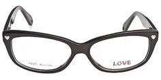 Retro Glasses (Love L744 Black) from coastal.com