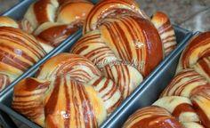 Na Cozinha da Margô: Pão Mármore de Chocolate