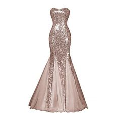 Glamour Sweetheart Sequin Mermaid Long Prom Dress ($79) ❤ liked on Polyvore featuring dresses, embellished cocktail dress, sequin cocktail dresses, cocktail prom dress, cocktail dresses and holiday party dresses