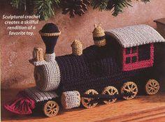 Ravelry: Locomotive Toy pattern by Susan Lowman.