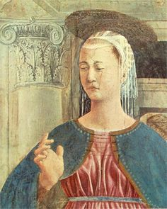 Annunciation (detail)  Piero della Francesca