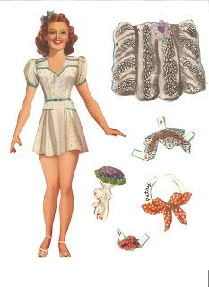 Miss Missy Paper Dolls: College Style 1941