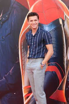 The Biggest Menswear Looks You Missed This Week Tom Parker, Tom Holland Peter Parker, Siper Man, Tom Peters, Tom Holand, Baby Toms, Man Thing Marvel, Marvel Man, Marvel Funny