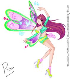 Positive Believix of Roxy by florainbloom.deviantart.com