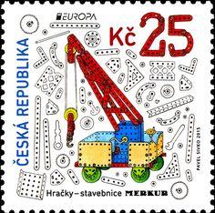 Známky: Europa: Toys - Merkur Modelling System (Česká republika) (Europa (C.E.P.T.) 2015 - Toys) Mi:CZ 846,POF:CZ 848