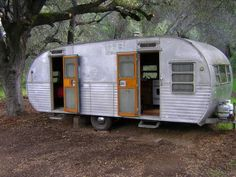 Vintage 1956 Yellowstone Travel Trailer