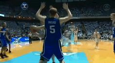 4. Gerald Henderson punched Tyler Hansbrough in the face during the middle of a game.
